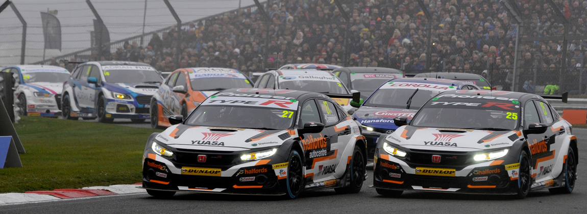 2019 BTCC Round 1 Brands Hatch